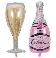Набор шаров Шампанское и бокал