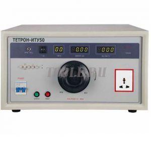 ТЕТРОН-ИТУ50 Измеритель тока утечки мощностью 5 кВА