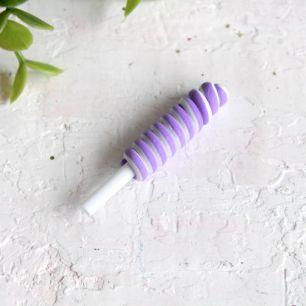 Леденец длинный фиолетовый 49*10 мм