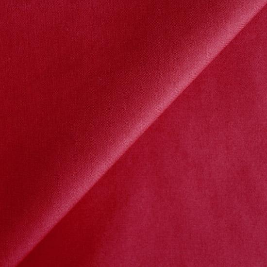 Ткань Хлопок Однотонный мерсеризованный красный 50x40