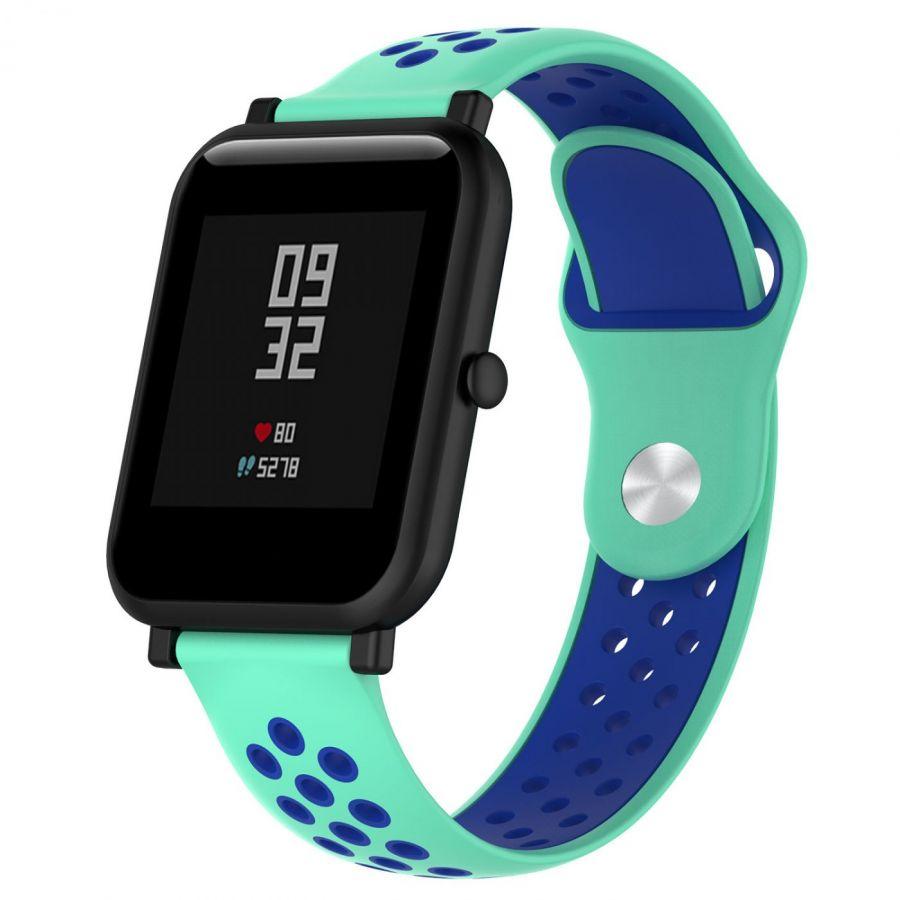 Силиконовый ремешок  для Amazfit Bip 20мм (голубой)