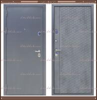 Входная дверь Торино Тёмно-серый букле / Бетон 100 мм. Россия