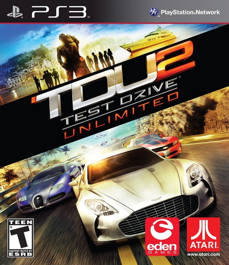 Игра Test Drive Ultimate 2 (PS3)