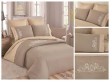 Постельное белье Перкаль с вышивкой 2-спальный Арт.PV-003-2