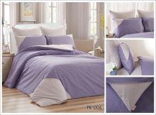 Комплект постельного белья Перкаль с кружевом  1.5-спальный  Арт.PK-006-1