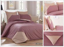 Постельное белье Перкаль с кружевом 2-спальный Арт.PK-005-2