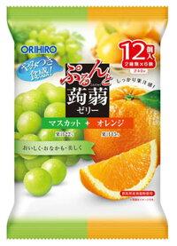 Orihiro желе виноград и апельсин 12шт