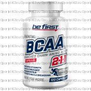 Аминокислоты БЦАА 2:1:1 капсулы Be First BCAA Capsules 120 капсул