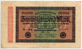 Германия 20.000 марок 1923