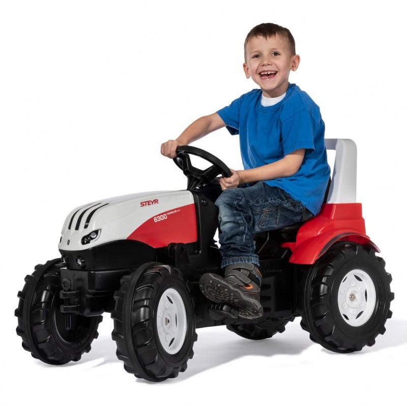 Педальный трактор Rolly Toys 6300 Terrus CVT 700042