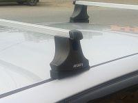 Багажник на крышу Mazda CX-7, Атлант, прямоугольные дуги