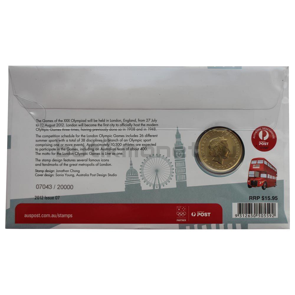 1 доллар 2012 Австралия Австралийская олимпийская сборная (В буклете)