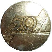 """Настольная медаль """"1ый таксомоторный парк"""" 50 лет 1936-1986"""