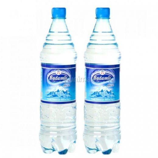 Бадамлы негазированная вода 0.5 пластик