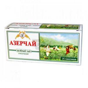 Чай АзерЧай зеленый 25 шт