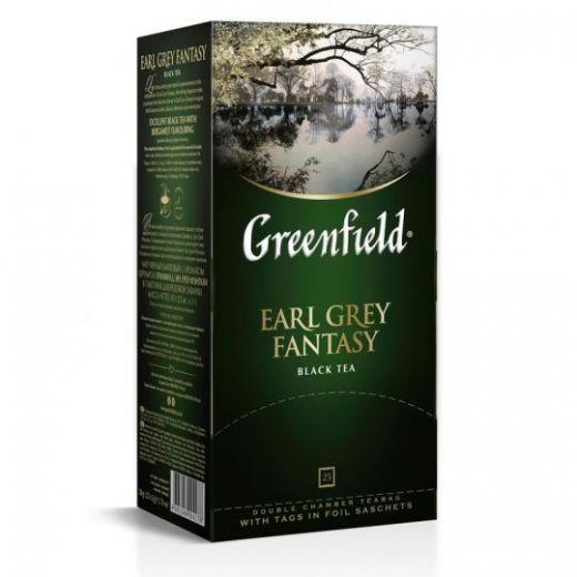 Чай Greenfield Earl Grey Fantasy черный 25 шт