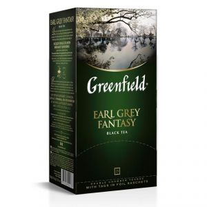 Чай Greenfield Earl Grey Fantasy черный 25 шт