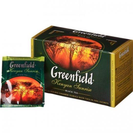Чай Greenfield Kenyan Sunrise черный 25 шт
