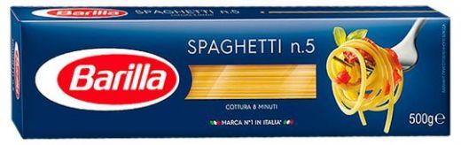 Макароны Barilla Spaghetti n.5 500г