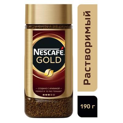 Nescafe Gold 190 гр