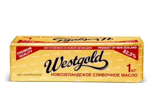 Сливочное масло Vest Gold 1 кг
