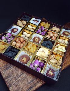 Коробка с сухофруктами