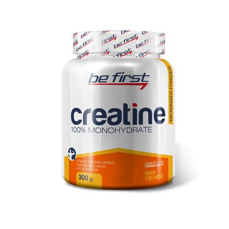 BeFirst Creatine Micronized Powder 300гр апельсин скл2