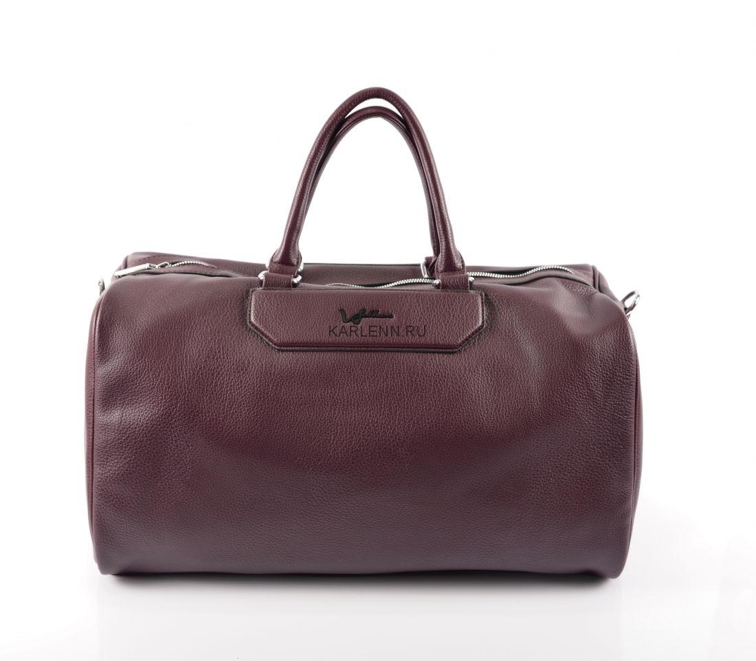 Дорожная сумка / для фитнеса Velina Fabbiano (вишневый бургунди)