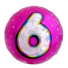 Круг цифра 6