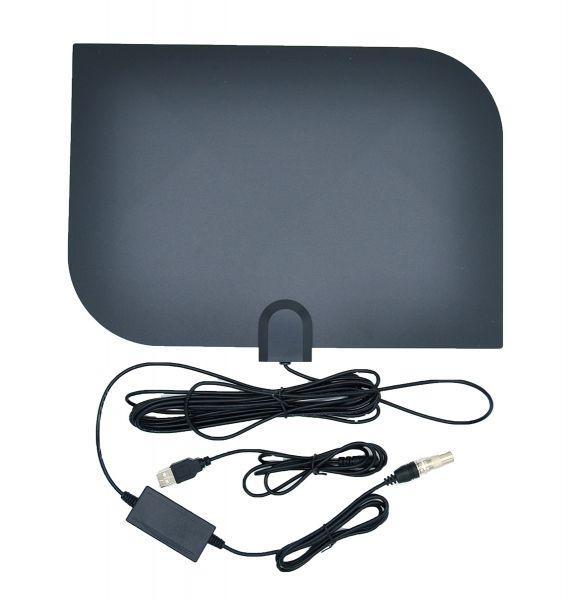 Антенна ТВ ОРБИТА TD-018 комн. с усилит. (USB)