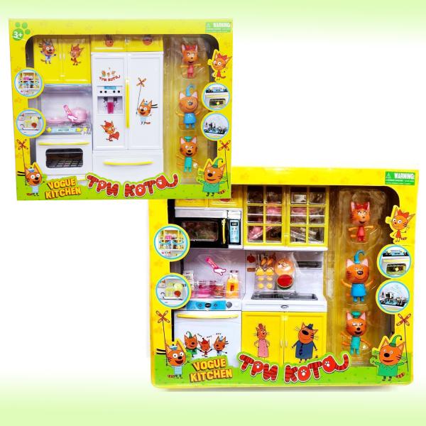 Интерактивный игровой набор Три кота - Кухня