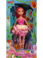 """Кукла """"Фея"""" с аксессуарами в цветочном платье, 22.5 см (арт. 1612876)"""