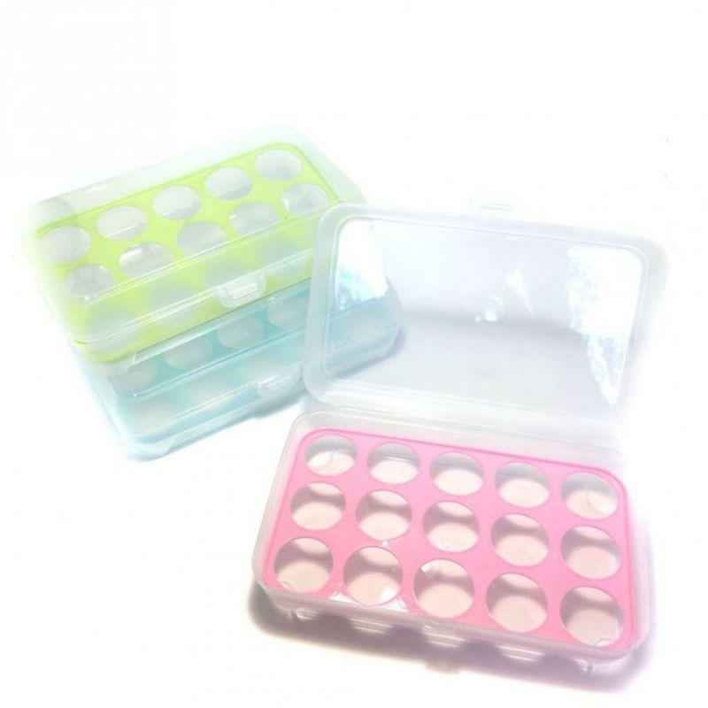 Портативный пластиковый контейнер для переноски и хранения яиц