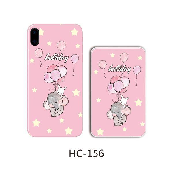 Защитный чехол HOCO Colorful and graceful series для iPhone7/8 plus (слон шары и звезды)