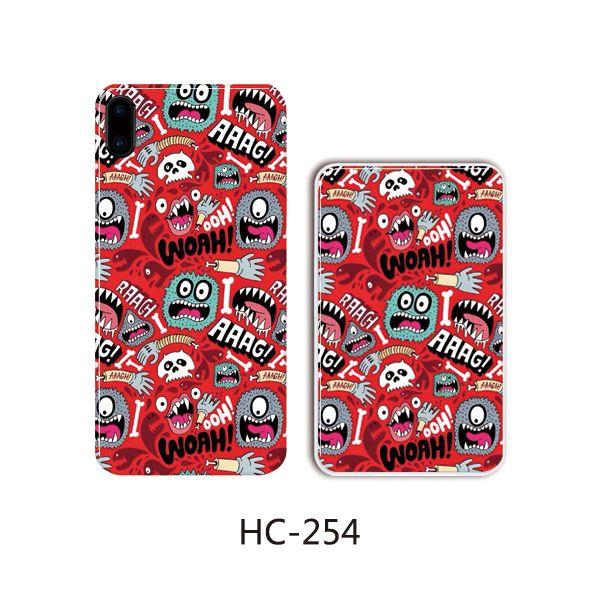 Защитный чехол HOCO Colorful and graceful series для iPhoneXR (монстры на красном)