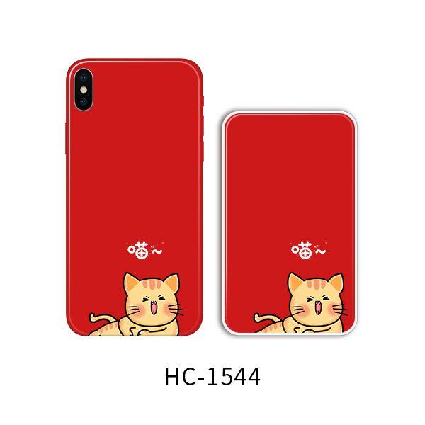 Защитный чехол HOCO Colorful and graceful series для iPhoneXR (кот на красном)