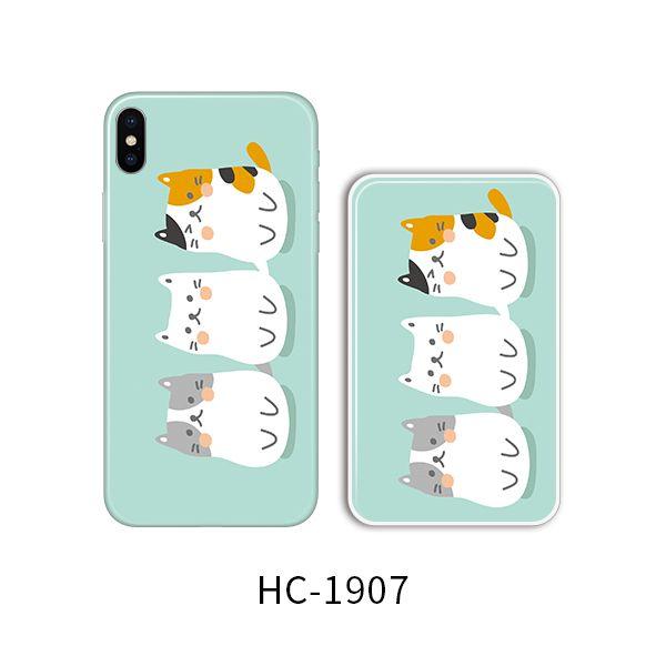Защитный чехол HOCO Colorful and graceful series для iPhoneXS (три толстых кота)