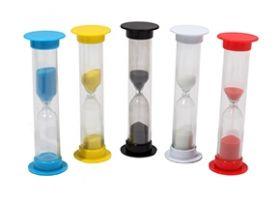 Песочные часы (3мин. цвет 5 микс. песок цвет под цвет корпуса) (арт. ПЧ-6068)