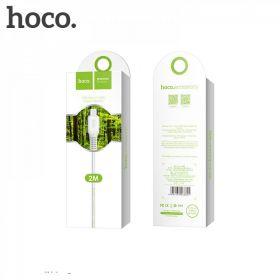 Кабель USB - microUSB Hoco X20 2м белый