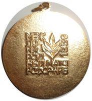 """Медаль """"Спортивная гимнастика"""" Брянск 1989 год"""