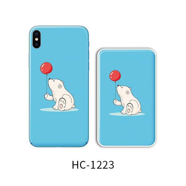 Защитный чехол HOCO Colorful and graceful series для iPhoneXS (медвед смотрит на шар)