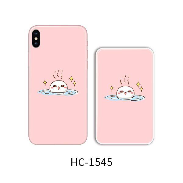 Защитный чехол HOCO Colorful and graceful series для iPhoneXS (белый шарик греется)
