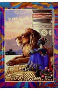 """Бизнес-блокнот 96 листов, А5 """"Spirit Africa"""" (96ББ5фВ_18767)"""