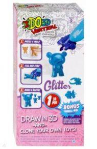 """3D ручка """"Вертикаль-Глиттер"""" 1 ручка (голубая) (176075)"""