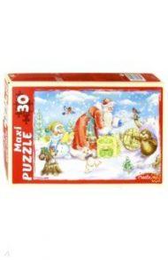 """Maxi puzzle-30 """"Подарки от Дедушки Мороза"""" (ПМ-7446)"""
