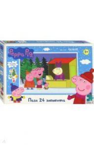 """Peppa Pig. Пазл-24 """"Отдыхаем всей семьёй"""" (04307)"""