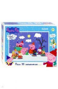 """Пазл-35 """"Peppa Pig. Детишки на санках"""" (04309)"""