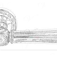 Ручка Venezia Castello D1