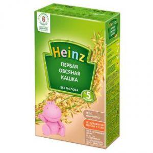 Kaşa südsüz Heinz 250 qr, 5 aydan yuxarı