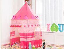 Палатка игровая детская «Замок для принцессы» розовый